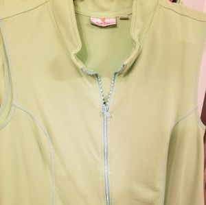 Quacker Factory Skort & Vest Set 2X